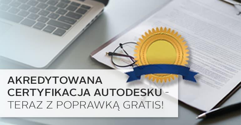 Akredytowana certyfikacja autodesk ACU AutoCAD 3ds Max