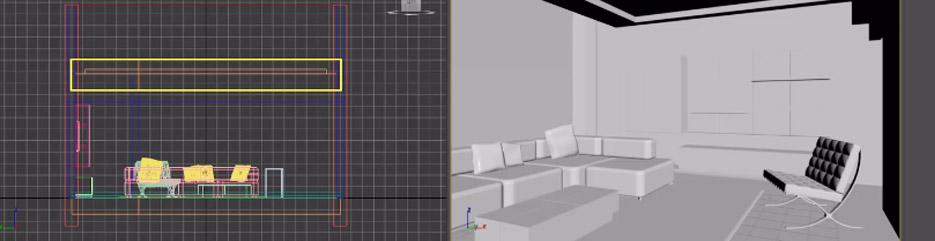 Modelowanie projektów mebli – 3ds Max