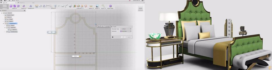 : Projektowanie mebli – Fusion 360
