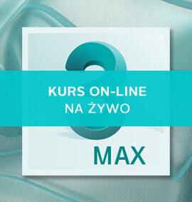 3ds Max kurs online – Poziom I