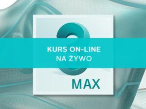 3ds max kurs online modelowane 3d
