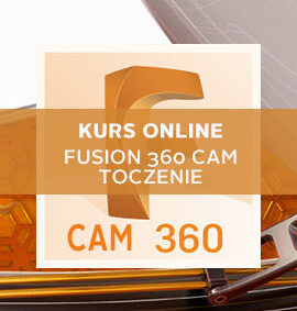 Kurs online Fusion 360 CAM – Toczenie 2D – Podstawy