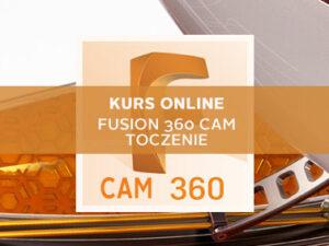 Szkolenie Fusion 360 cam toczenie online