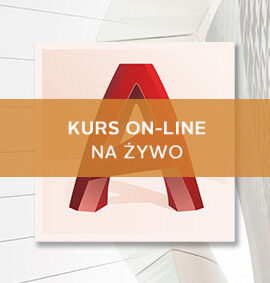 Kurs AutoCAD / AutoCAD LT online – Poziom I