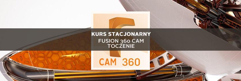 Szkolenie Fusion 360 cam Toczenie stacjonarne