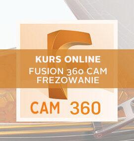Kurs online Fusion 360 CAM – Frezowanie 2D/2.5D/3D – Podstawy