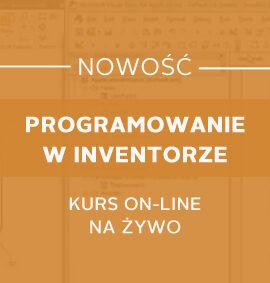 Programowanie w Inventorze – kurs online