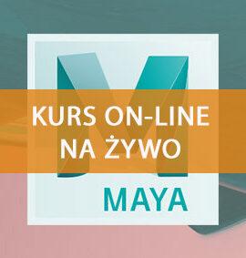 Szkolenie Maya online – Animacja Postaci 3D
