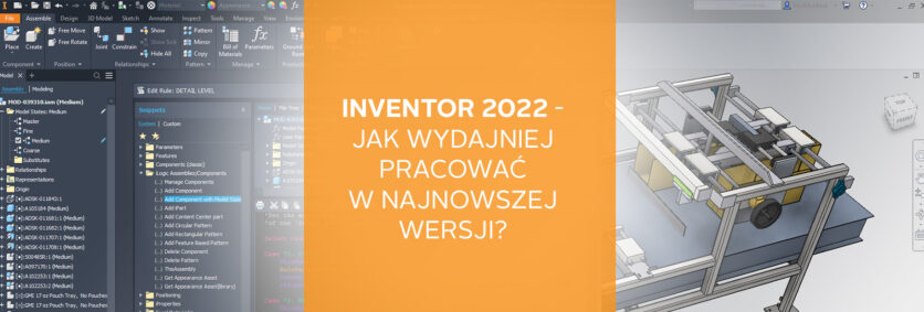 Inventor 2022 - nowości wersji