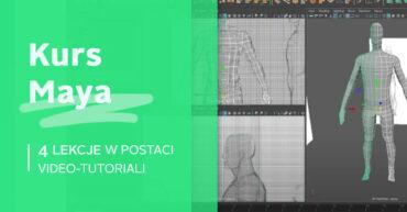 Autodesk Maya modelowanie i animacja postaci kurs video tutoriale